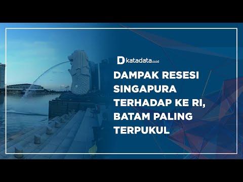 Dampak Resesi Singapura Terhadap ke RI, Batam Paling Terpukul? | Katadata Indonesia