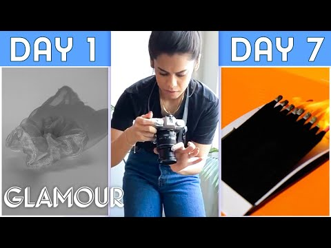 10 Amateurs Try to Master Still-Life Photography in One Week | Glamour