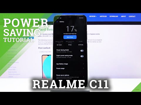 How to Enable Battery Save in REALME C11 – Extend Battery Live