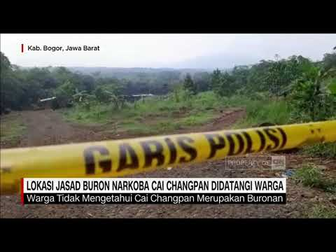 Ini Lokasi Penemuan Jasad Buron Narkoba, Cai Changpan