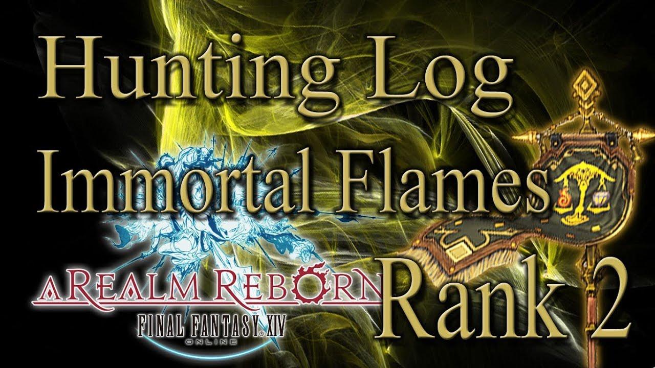 Final Fantasy XIV A Realm Reborn Immortal Flames Rank 2