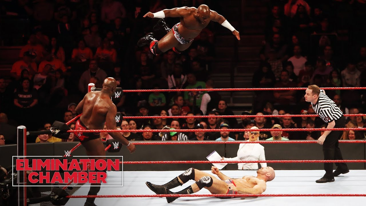 Image result for the bar vs titus worldwide elimination chamber