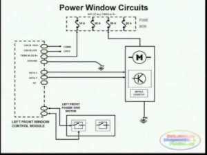 Power Window Wiring Diagram 2  YouTube