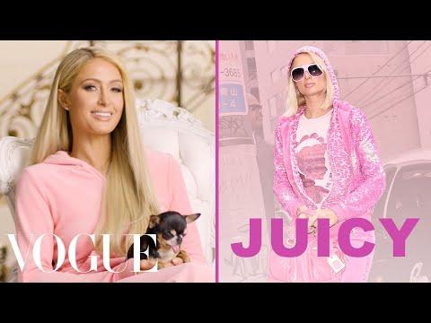 Paris Hilton Talks About the Juicy Couture Tracksuit | Vogue
