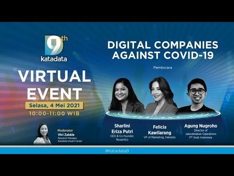 "#Katadata9 Virtual Event: ""Digital Companies Against Covid-19"""