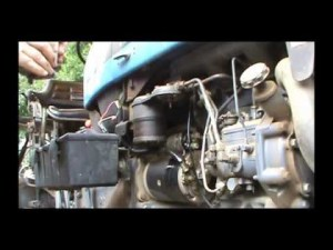 Tractor Surging? How to change the fuel filter  YouTube