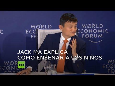 El cofundador de Alibaba, Jack Ma, aborda el futuro de educación