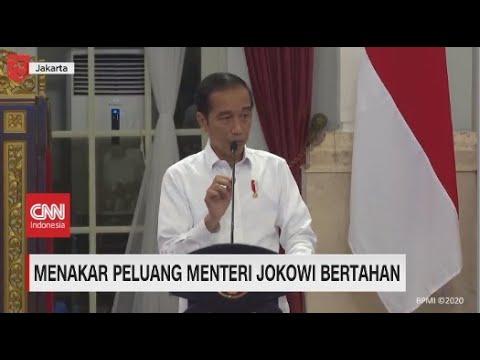 Menakar Peluang Menteri Jokowi Bertahan