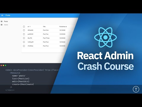 React Admin Crash Course