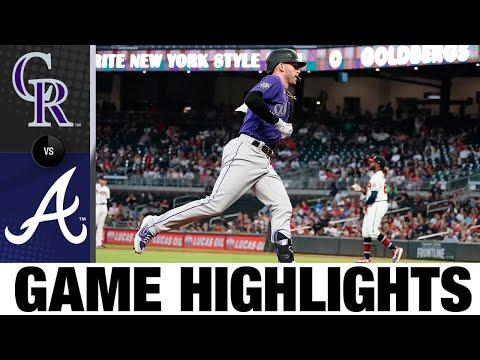 Rockies vs. Braves Game Highlights (9/14/21) | MLB Highlights