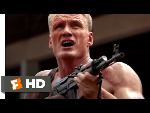 Skin Trade (2015) - Shooting Down a Helicopter Scene (9/10) | Movieclips