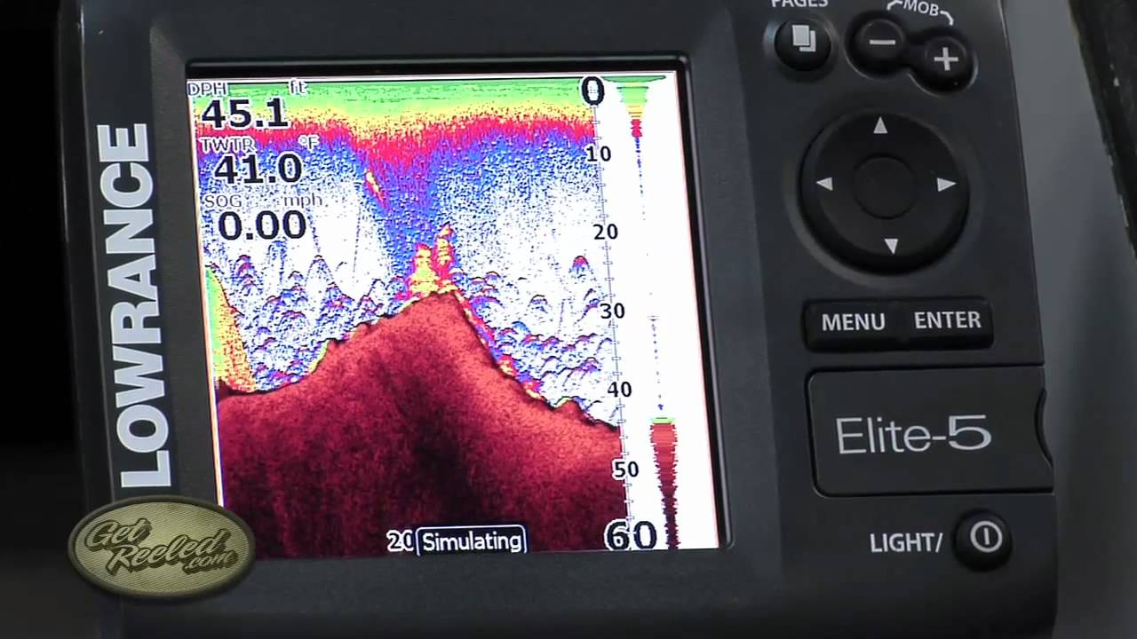 Dial In The Sensitivity Of Your Sonar Fish Finder
