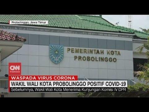 Wakil Wali Kota Probolinggo Positif Covid-19