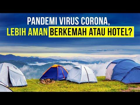 Lebih Aman Berkemah atau Menginap di Hotel Saat Pandemi?