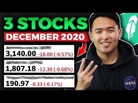 3 Stock To BUY DECEMBER 2020 Robinhood (High Value)