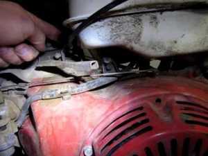 Honda GX 390 Throttle Set Up, Throttle Linkage  YouTube