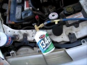 How To Charge Auto AC Systems  Backyard Style Car AC Fix