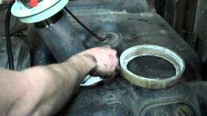 19972001 Jeep Cherokee Fuel Pump Module Replacement XJ step by step  YouTube