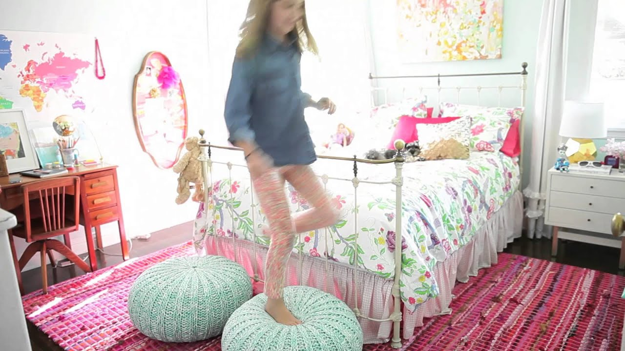 How To Style A Girls Room Youtube