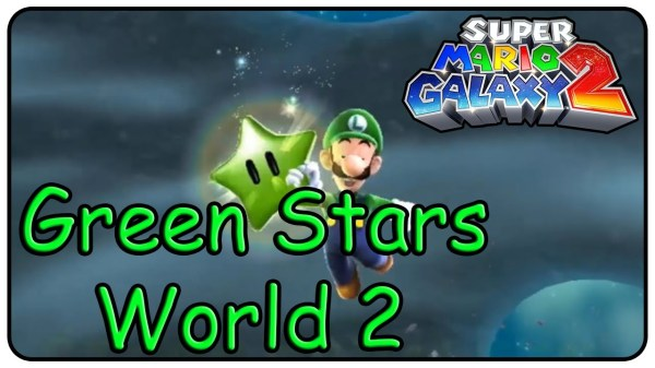 Super Mario Galaxy 2 All Green Stars in World 2 - YouTube