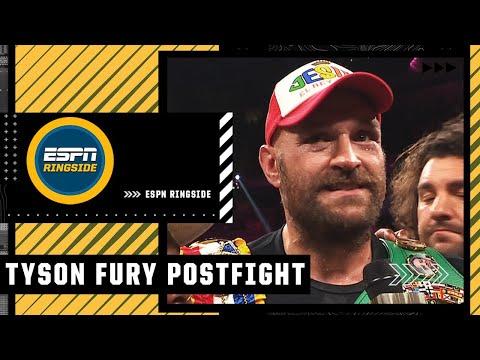 Tyson Fury talks win over Deontay Wilder in trilogy fight   ESPN Ringside