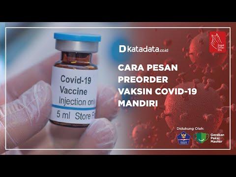 Cara Pesan Preorder Vaksin Covid-19 Mandiri | Katadata Indonesia