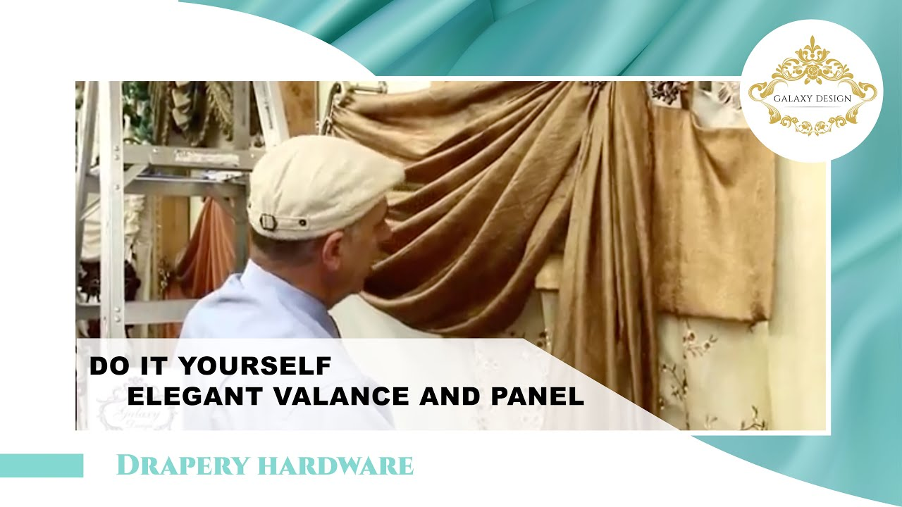 Video #13: Do It Yourself Drapes | Window Treatment Ideas ... on Draping Curtains Ideas  id=75791