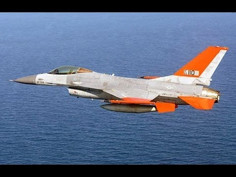Boeing - QF-16 Unmanned Fighter Full Scale Aerial Target First Flight [720p]