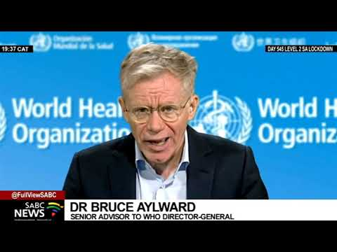 Measures to increase vaccine supply to developing nations: Dr Bruce Aylward