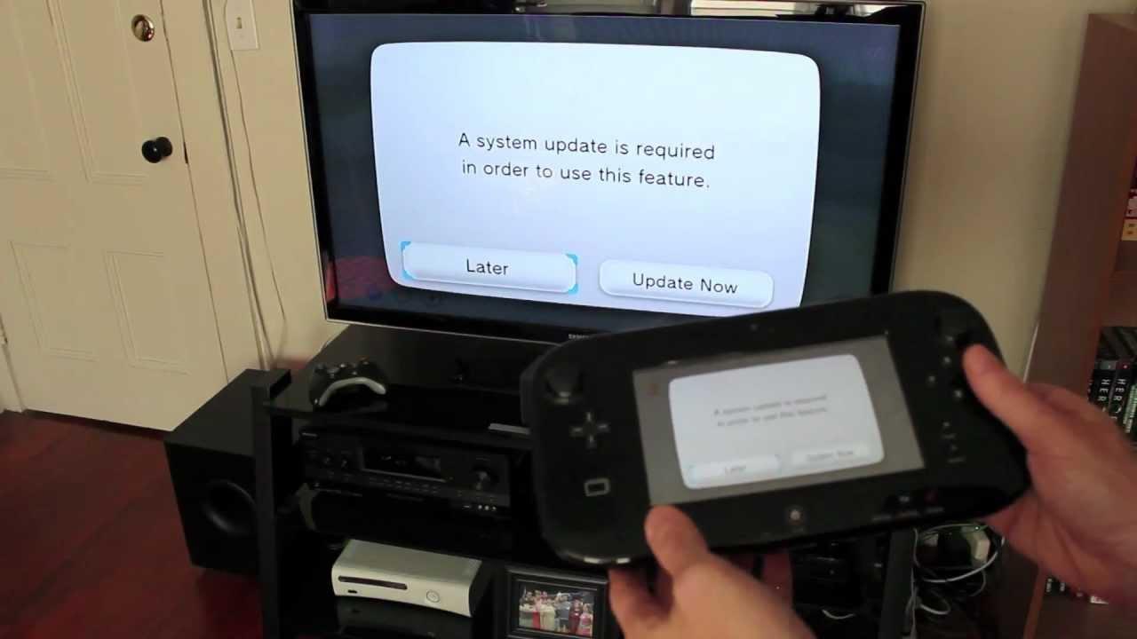 Nintendo Wii U Unboxing Setup Amp System Config Video YouTube