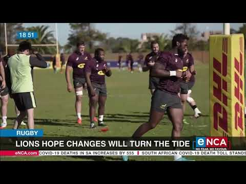 Lions hope changes will turn the tide