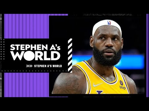 It's LeBron's last season to say he's the best player in the NBA - Stephen A.   Stephen A's World