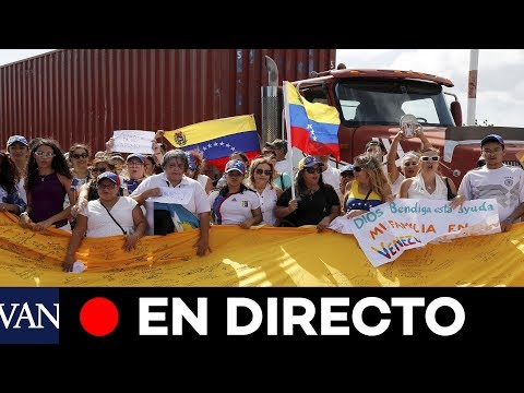 [EN DIRECTO] Activistas comienzan a traer ayuda externa a Venezuela