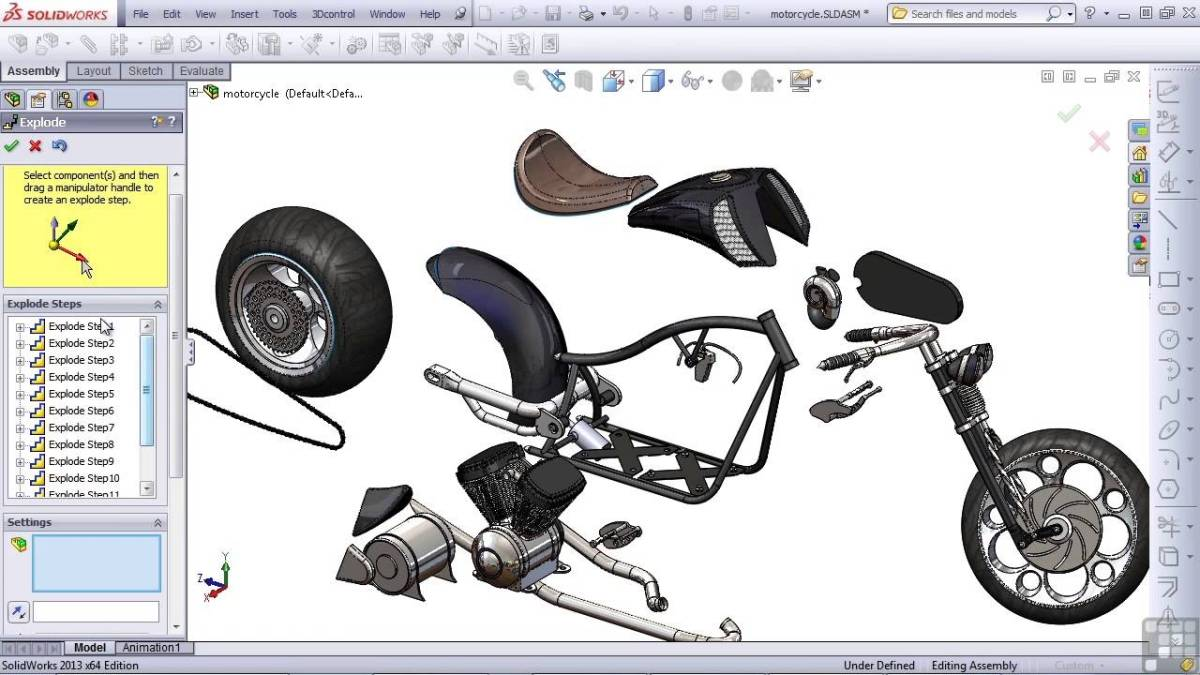 SolidWorks 2013 Tutorial | Exploded View - YouTube