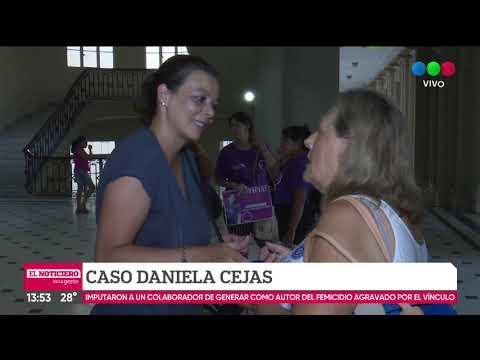 Prisión preventiva para el acusado de matar a Daniela Cejas