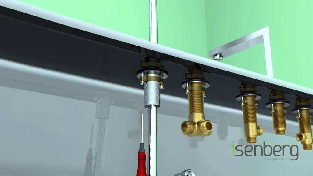 Installing Isenbergs Deck Mounted Roman Tub Filler Faucet