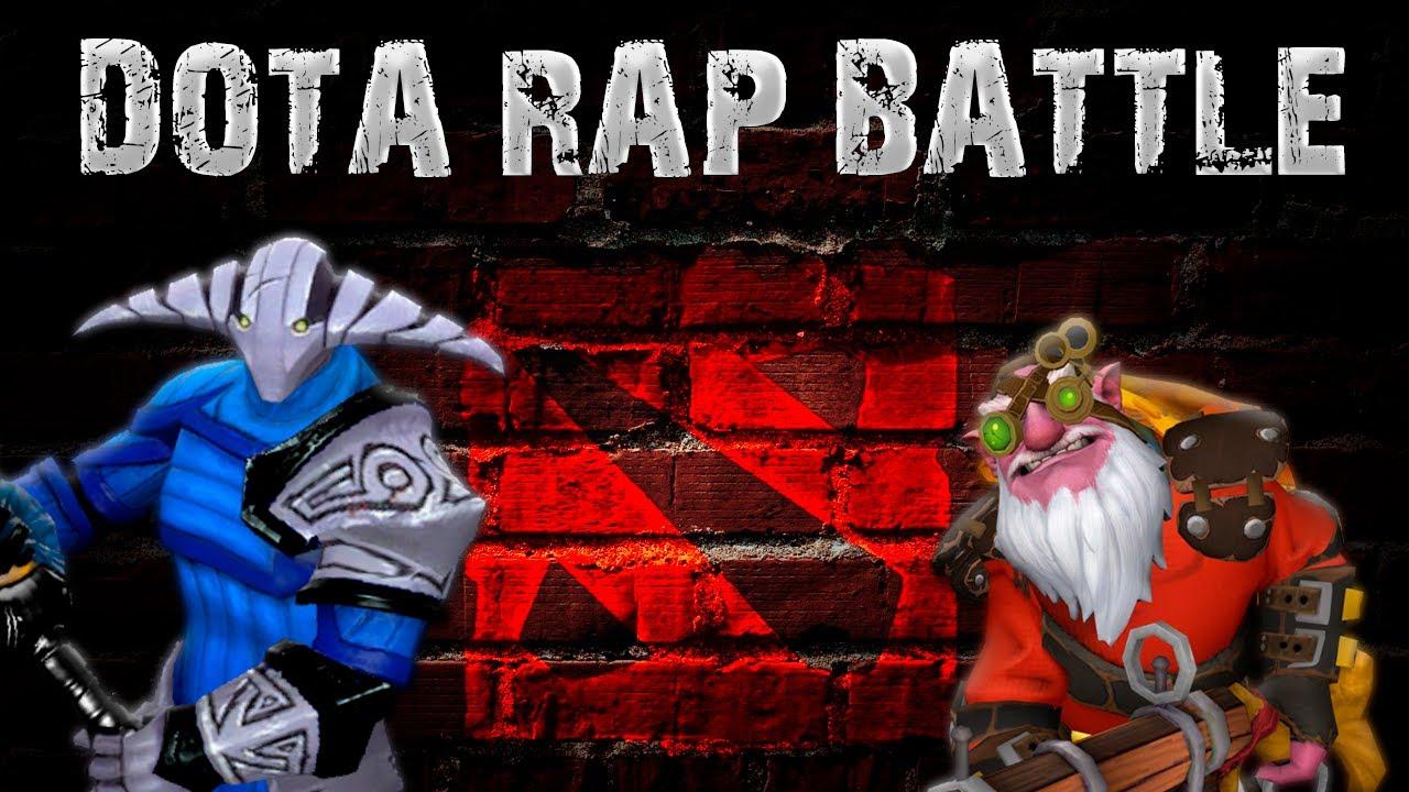 Dota Rap Battle Sven Vs Sniper YouTube