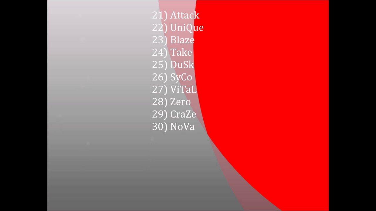 50 Good Clan Names PS3XBOX YouTube
