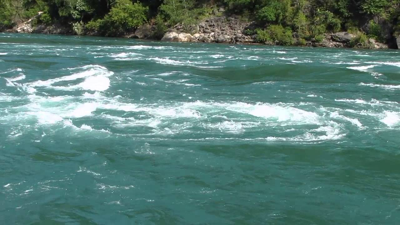 Niagara River Whirlpool Rapids Summer 2013 YouTube