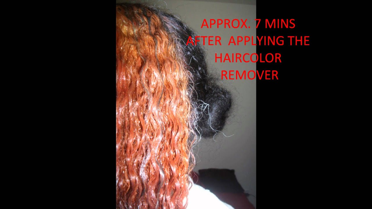 LOREAL HAIR COLOR REMOVER REVIEWwmv YouTube