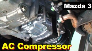 2009 Mazda 3 AC Compressor Replacement  YouTube