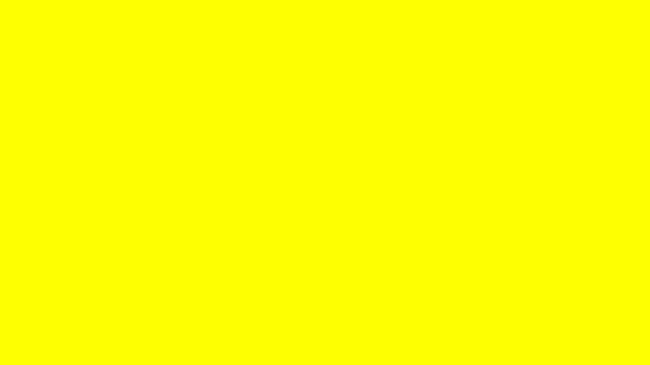 Ten Minutes Of Yellow Screen In Hd 1080p Youtube