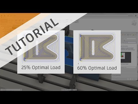 Quick Clearing and Low Wear with the Adaptive Toolpath