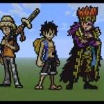 google pixel 4 One Piece Minecraft Pixel-art Supernovas! 720pHD - YouTube