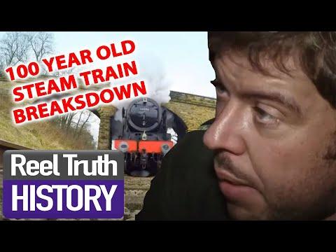 100 YEAR OLD STEAM TRAIN | Yorkshire Steam Railway: All Aboard | Reel Truth History Documentaries