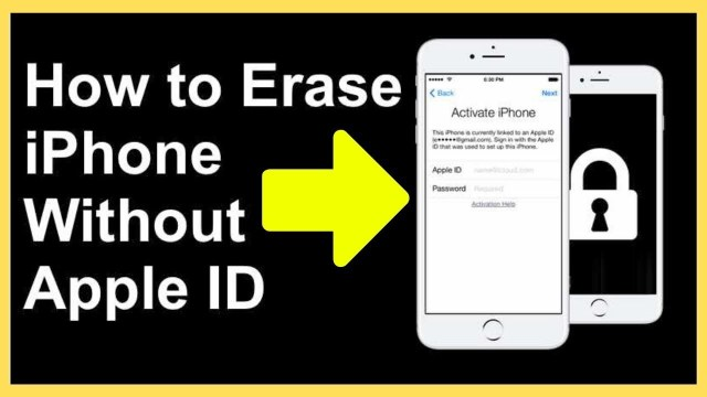 How To Erase Iphone 26s Without Apple Id Password - Apple Poster