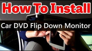 How to install an Overhead Car DVD Player with Sunroof