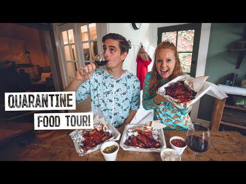 Quarantine FOOD TOUR in St. Louis! + Travel Update & Self-Isolation Apartment Tour 😍
