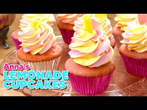 Pink Lemonade Cupcakes for Casual Wedding! | Anna's Occasions