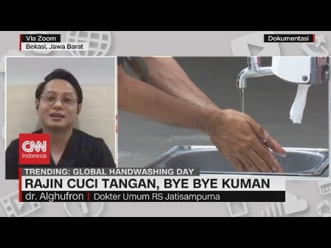 Rajin Cuci Tangan, Bye Bye Kuman